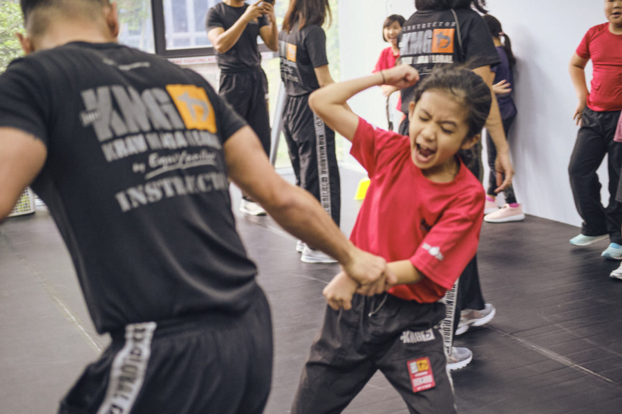 Krav Maga for kids with Kravist