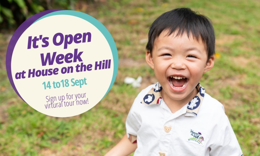 House on the Hill Open Week
